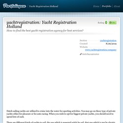 How to find the best yacht registration agency for best services?