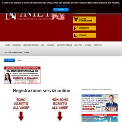 Registrazione nuovo utente