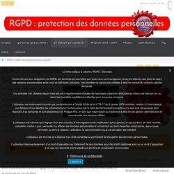 RGPD : Le registre des traitements (service payant) - RGPD Brest - Finistère