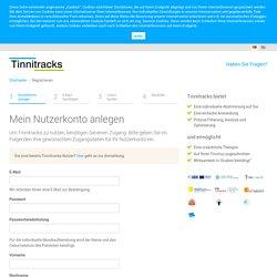 Registrieren Sie sich jetzt für Tinnitracks