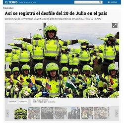 Fotos: Así se registró el desfile del 20 de Julio en el país - Galería de Fotos