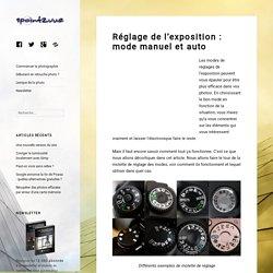 Réglage de l'exposition : mode manuel et auto – 1point2vue