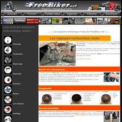 Les réglages carburation moto - Mecanique Moto