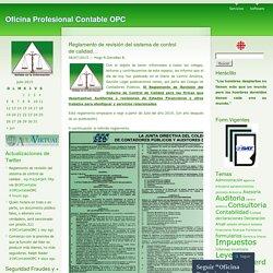 Reglamento de revisión del sistema de control de calidad…