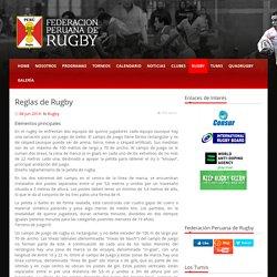 Reglas de Rugby