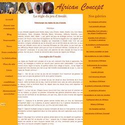 la regle du jeu d' awale en AFRIQUE