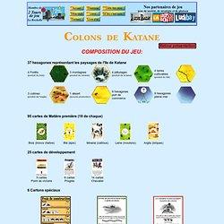 règle du jeu de stratégie colon de katane (siedler)