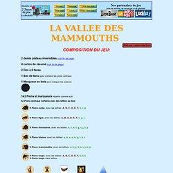 """règle du jeu de stratégie la vallée des mammouths"""""""