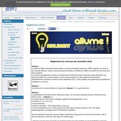 Concours de nouvelles CAES du CNRS