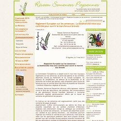 Règlement Européen sur les semences : La biodiversité mise sous contrôle pour ouvrir le marché aux brevets