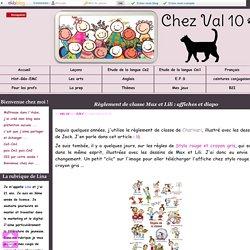 Règlement de classe Max et Lili : affiches et diapo - Chez Val 10
