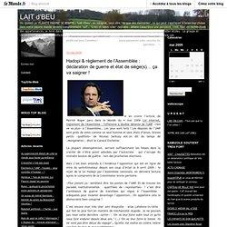 Hadopi & règlement de l'Assemblée : déclaration de guerre