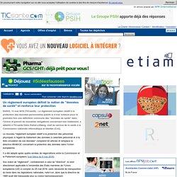 """Un règlement européen définit la notion de """"données de santé"""" et renforce leur protection"""