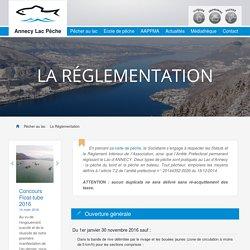 La Réglementation – AAPPMA Annecy Lac Pêche