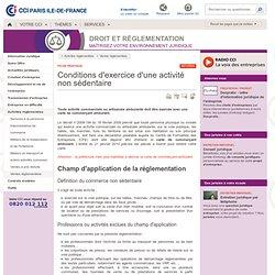 Reglementation vente ambulante - Vendre sur les marchés - Commerce ambulant