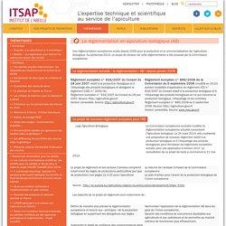 ITSAPLa règlementation en apiculture biologique (AB) - ITSAP