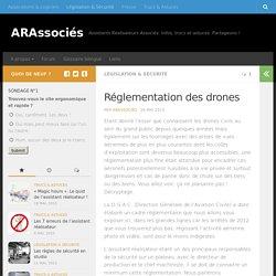 Réglementation des drones - ARAssociés