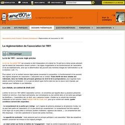 La loi 1901 : réglementation de l'association