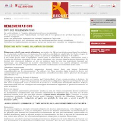 Santé publique et hygiène alimentaire : veille réglementaire Becquet