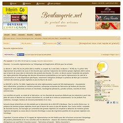 DGCCRF 01/08/05 Chocolat : la nouvelle réglementation sur l'étiquetage est d'application difficile pour les artisans
