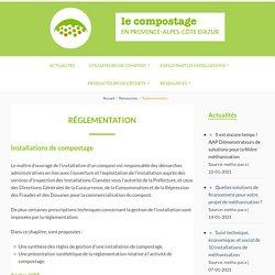 Réglementation - Compostage PACA