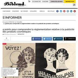 4 points pour comprendre la réglementation relative à la publicité des produits cosmétiques : Biblond, pour les coiffeurs !