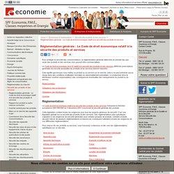 Réglementation générale : Le Code de droit économique relatif à la ...