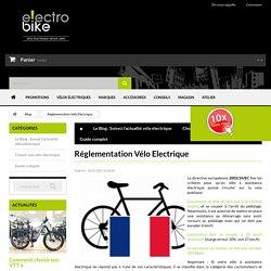 Réglementation Vélo Electrique - electrobike