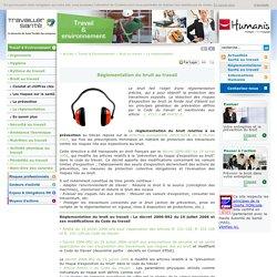 Réglementation du bruit au travail : législation et normes du bruit