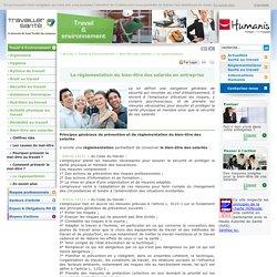 Réglementation, loi sur le bien-être des salariés en entreprise