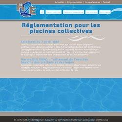 Règlementation des établissement possédant une piscine collective
