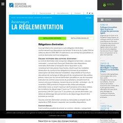 La réglementation : Fédération des Ascenseurs