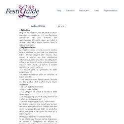Réglementation-Billeterie – New Festiguide53