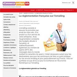 La réglementation française sur l'emailing