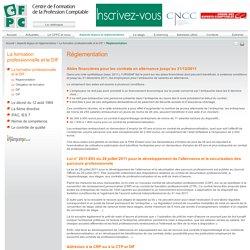 Réglementation - La formation professionnelle et le DIF - Aspects légaux et règlementaires - CFPC