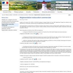 PREFECTURE DE LA MEUSE 17/12/13 Réglementation restauration commerciale