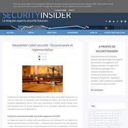 Newsletter cyber sécurité - Gouvernance et réglementation - Solucom SecurityInsider