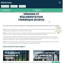 Véranda et réglementation thermique (RT2012) - Rénoval