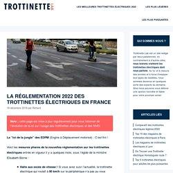 La nouvelle réglementation 2020 des trottinettes électriques en France