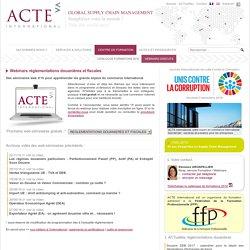 Webinars réglementations douanières et fiscales > ACTE International