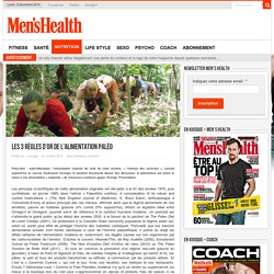 Les 3 règles d'or de l'alimentation paléo - Men's Health : Forme, nutrition, sports, santé, bons plans, sexe...