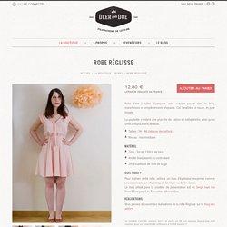 Robe Réglisse ● Deer&Doe - Jolis patrons de couture