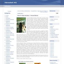 Sous le règne de Bone – Russell Banks : Fahrenheit 451