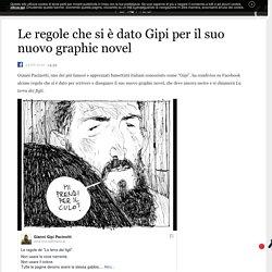 Le regole che si è dato Gipi per il suo nuovo graphic novel