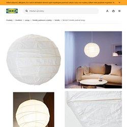 REGOLIT Stínidlo závěsné lampy, bílá, 45 cm