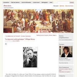 """» """"La régression anthropologique"""". Philippe Muray"""
