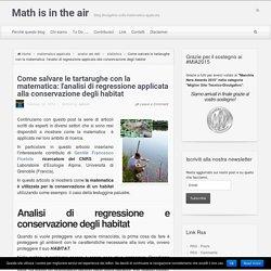 Come salvare le tartarughe con la matematica: l'analisi di regressione applicata alla conservazione degli habitat