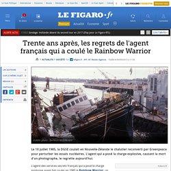 Trente ans après, les regrets de l'agent français qui a coulé le Rainbow Warrior