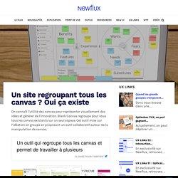 Un site regroupant tous les canvas ? Oui ça existe - Newflux, Actualité UX & UI Design