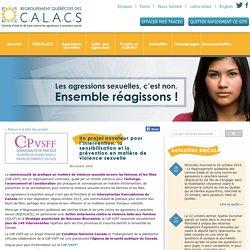 Nos projets et activités - Regroupement Québécois des C.A.L.A.C.S